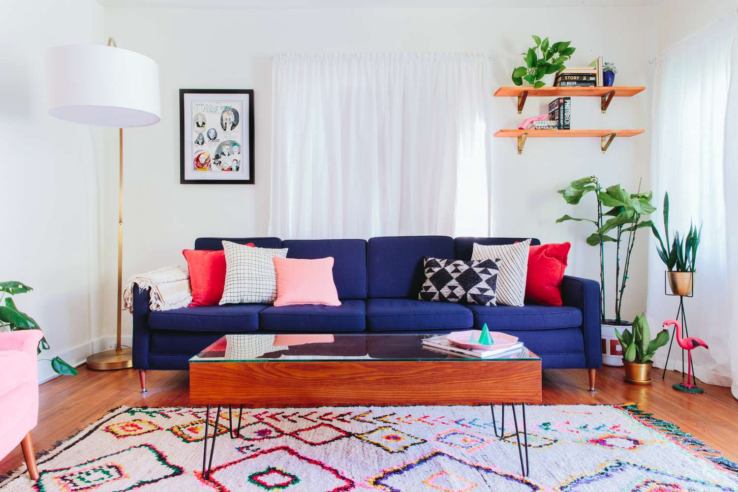 Shauna Bottos — Quick and Simple Living Room Decorating Ideas  by