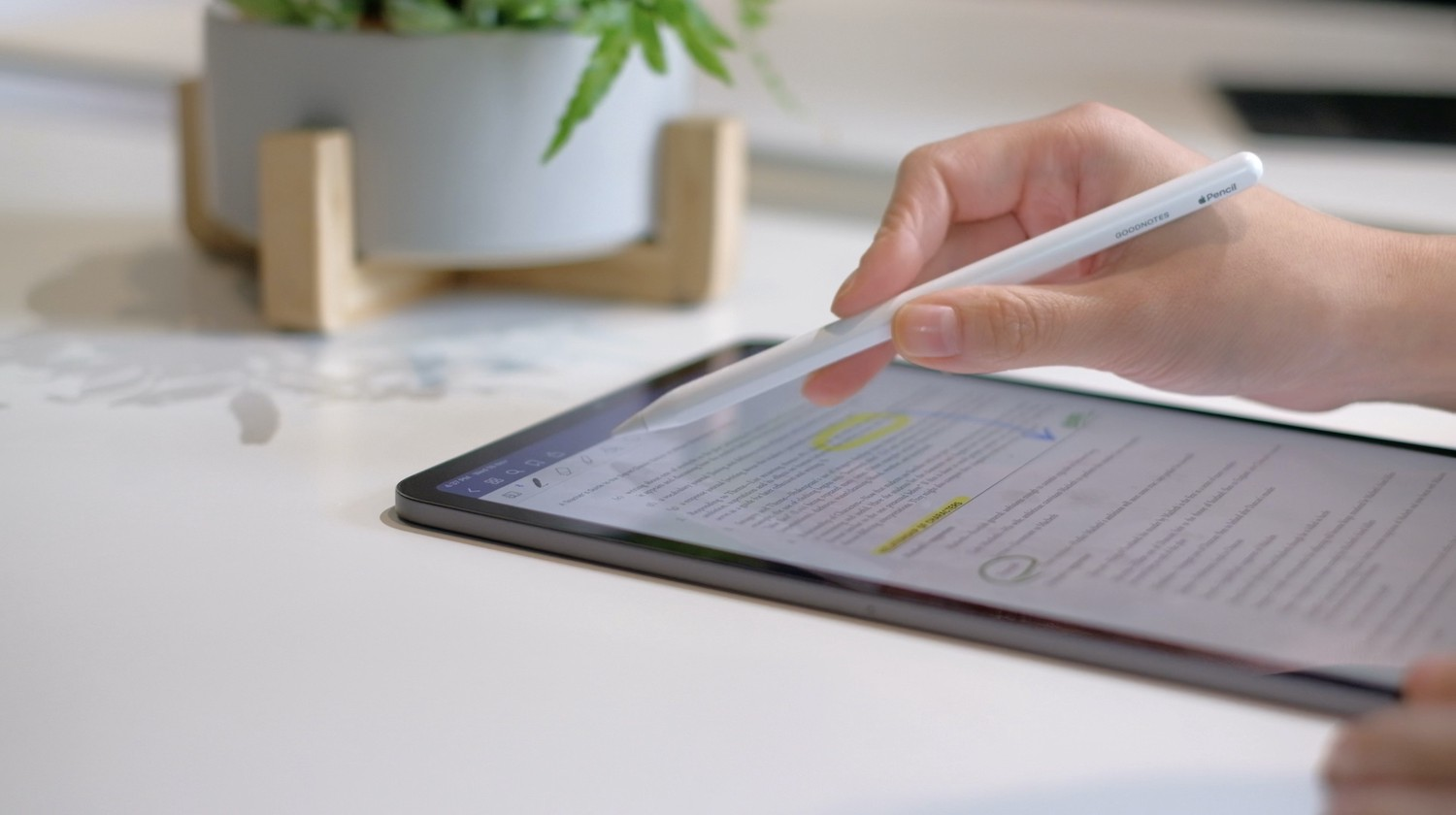 How To Markup A Pdf On The Ipad Goodnotes Blog
