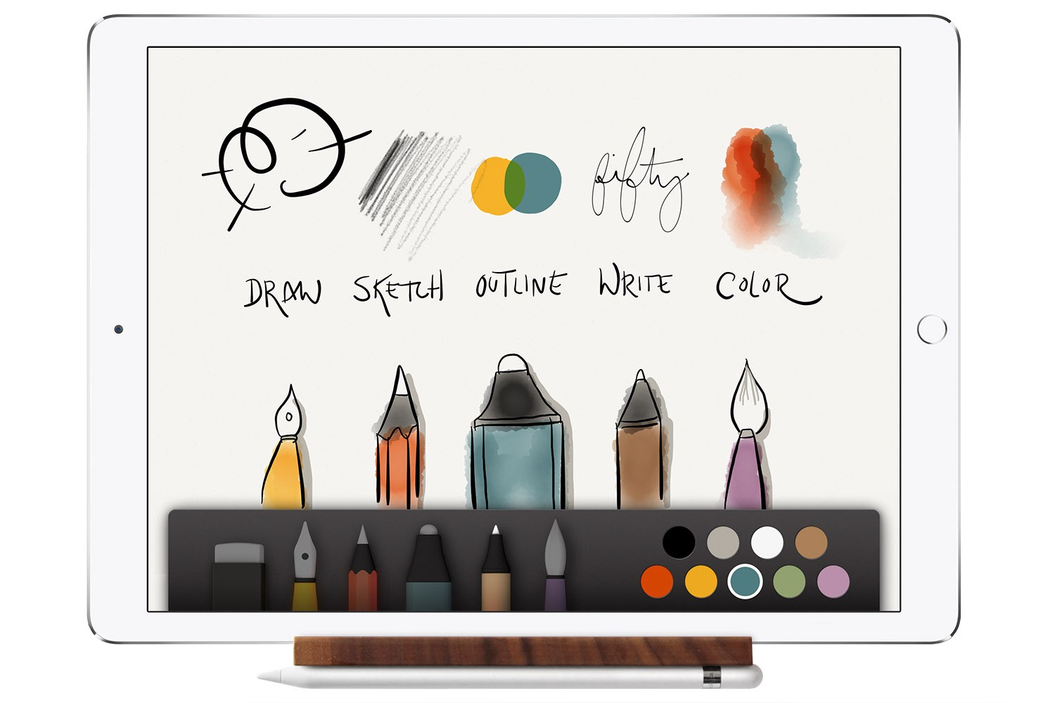 How the iPad, Apple Pencil, and Paper App change a