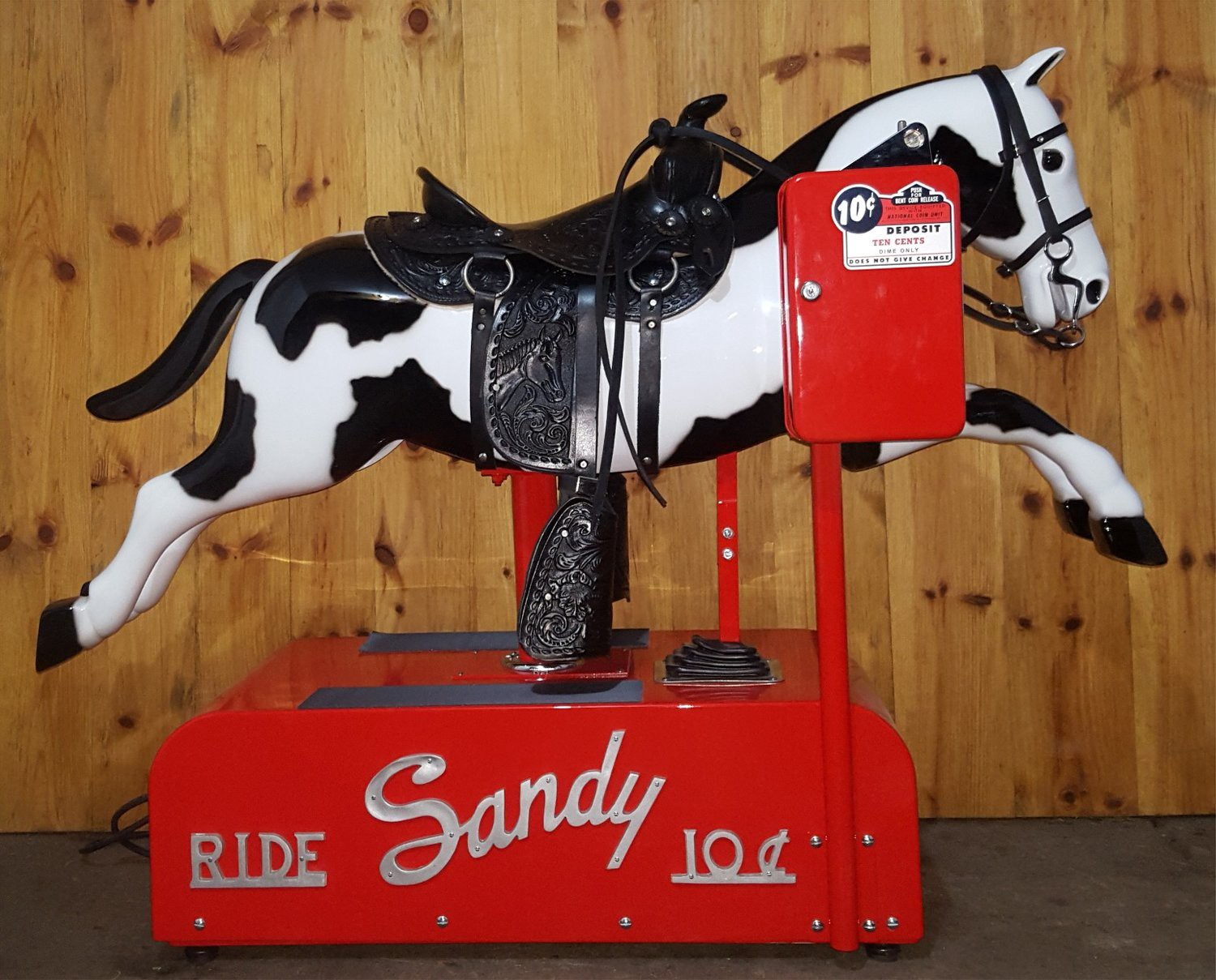 Remember these riding horses that used to be outside the