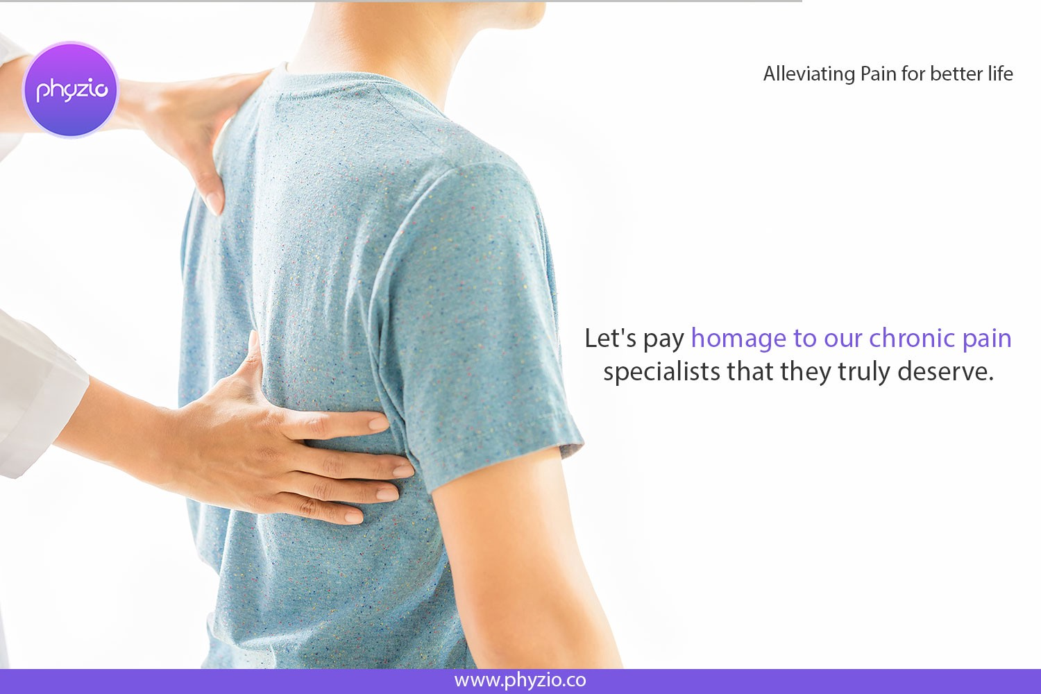 Why we need physiotherapist for our pain