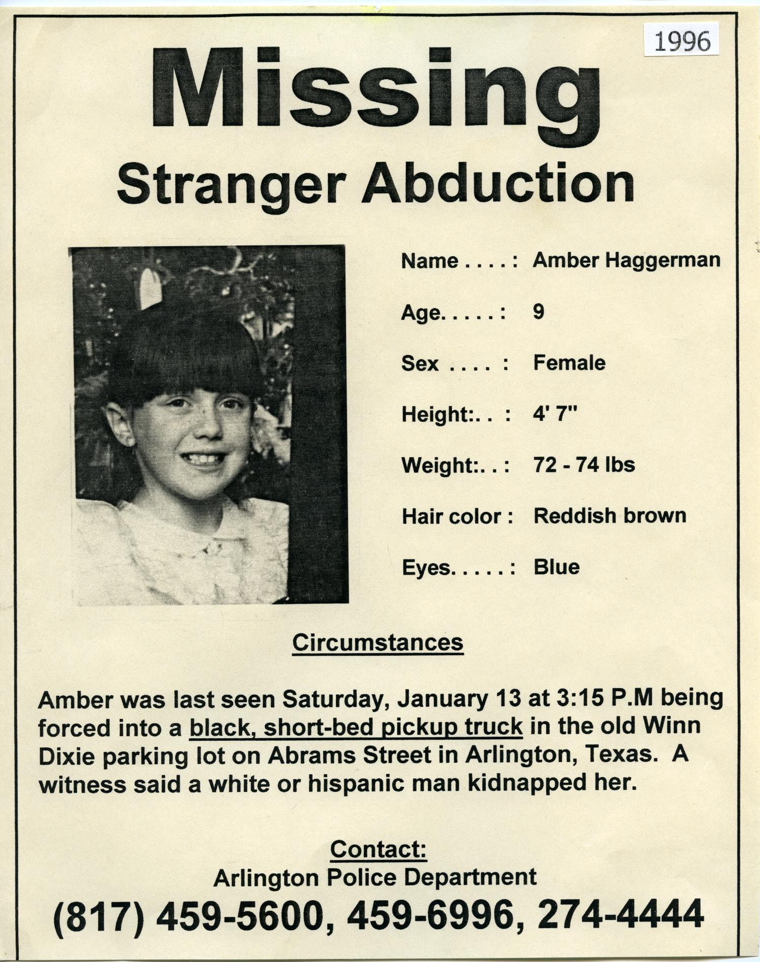 The Abduction And Brutal Slaying Of Amber Hagerman By The True Crime Times Medium