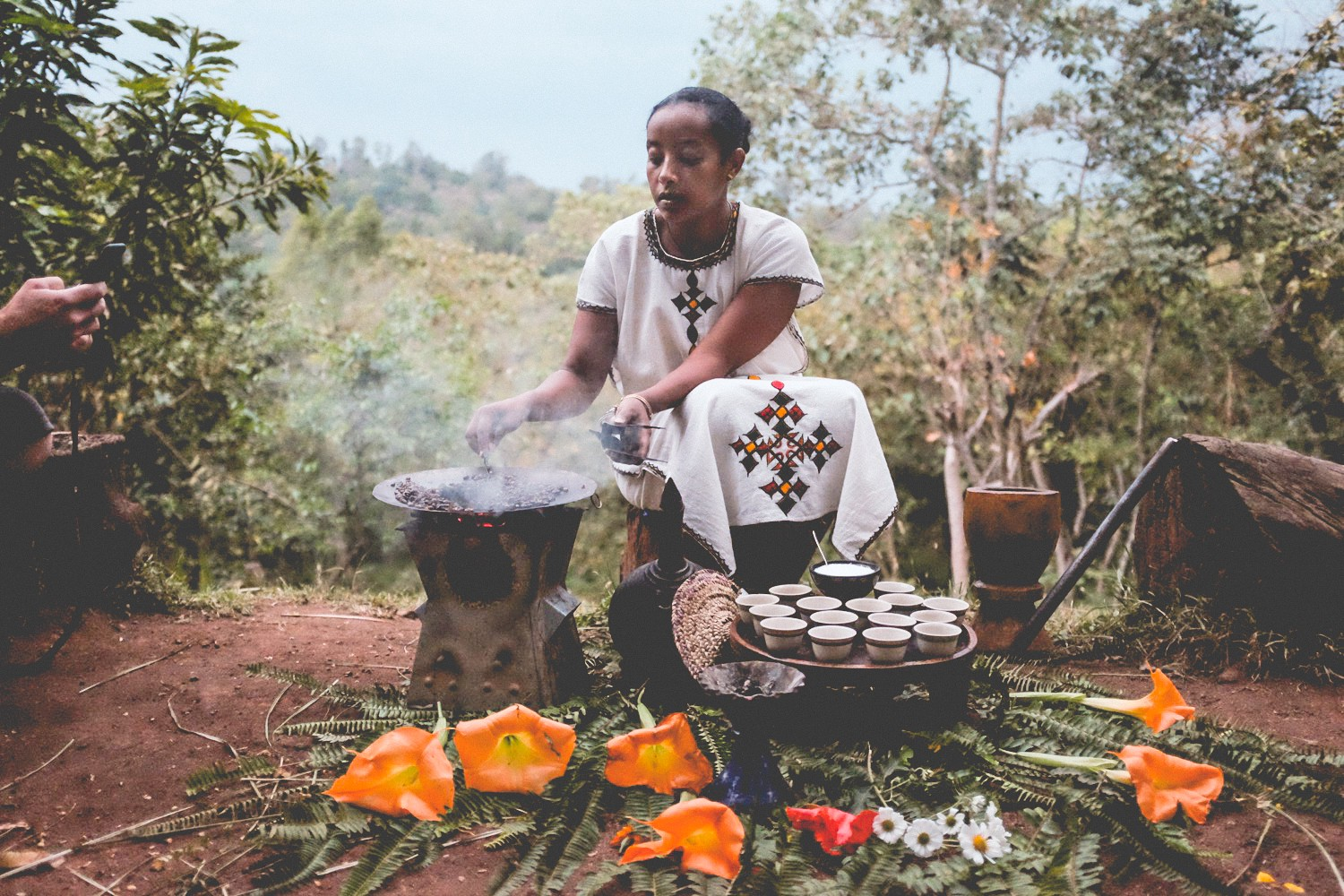 Grace of Buna: the Ethiopian Coffee Ceremony - The Coffee