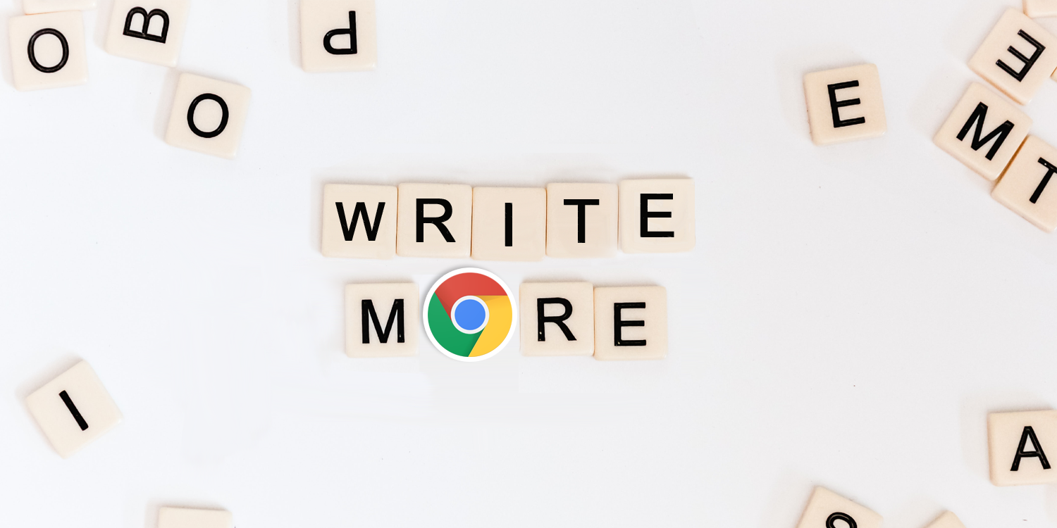 Photo from Unsplash with an addition of Google Chrome's logo