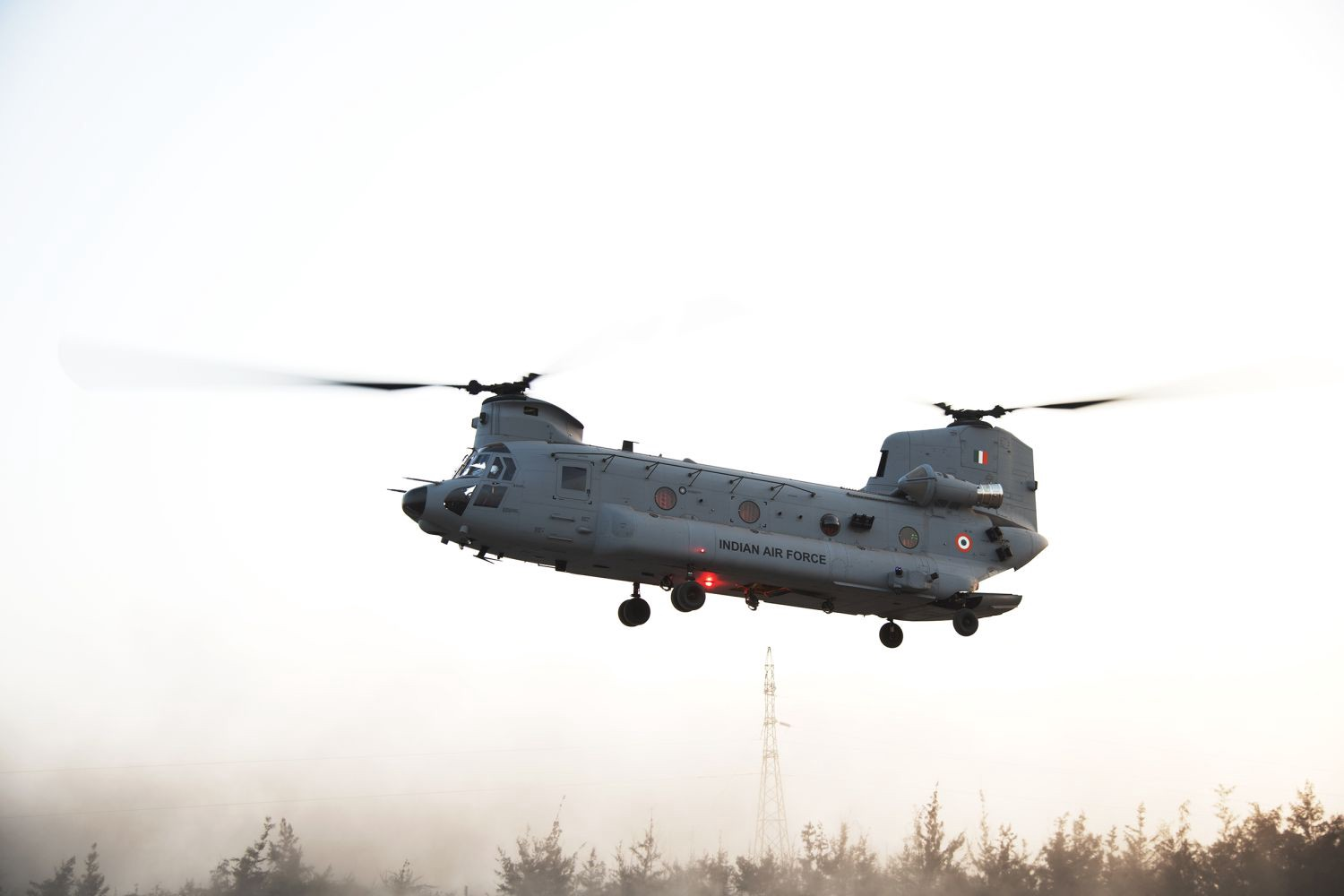 Indian Air Force inducts first four Boeing CH-47F(I) Chinook