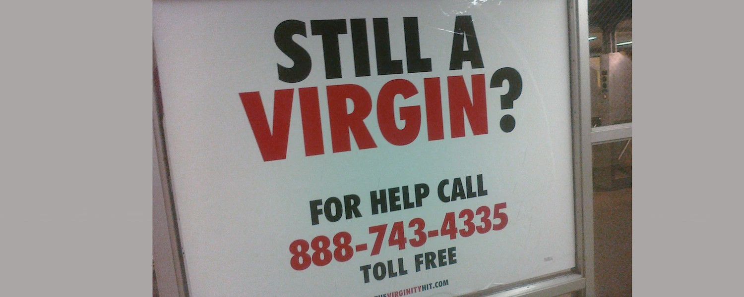 Why Virginity is a social construct, and why we need to stop judging people's character on their sexual history.