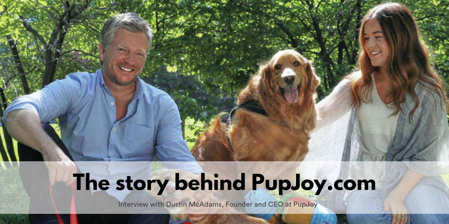 Names with stories: The story behind PupJoy com - MarkUpgrade - Medium