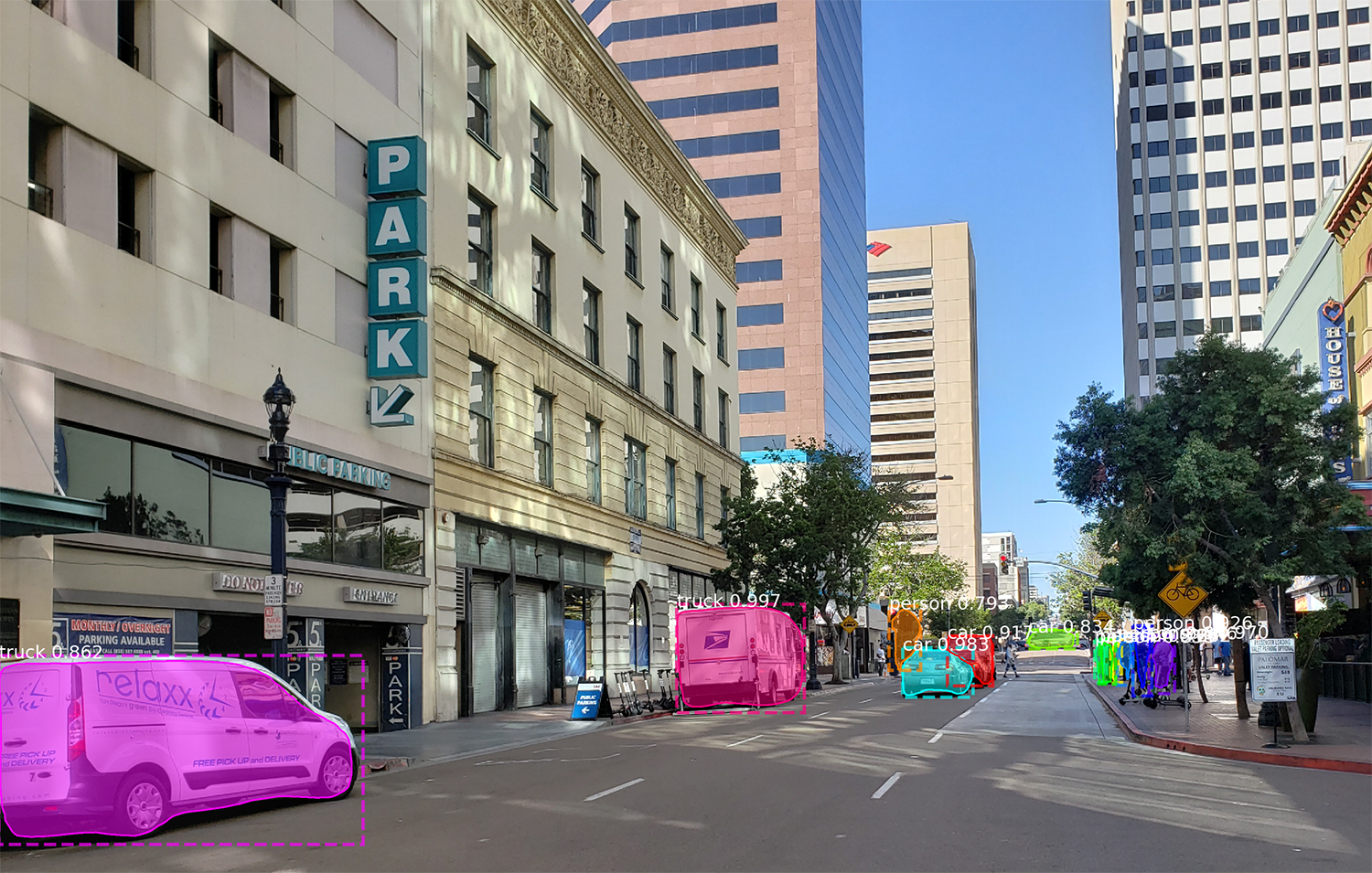 Snagging Parking Spaces with Mask R-CNN and Python - Adam