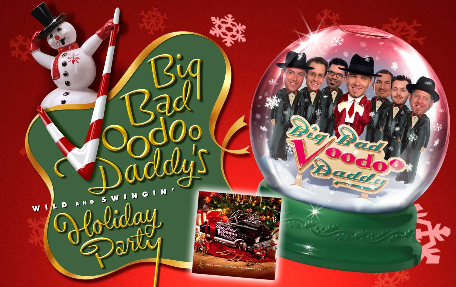 Live Big Bad Voodoo Daddy Christmas 2019 Burnsville