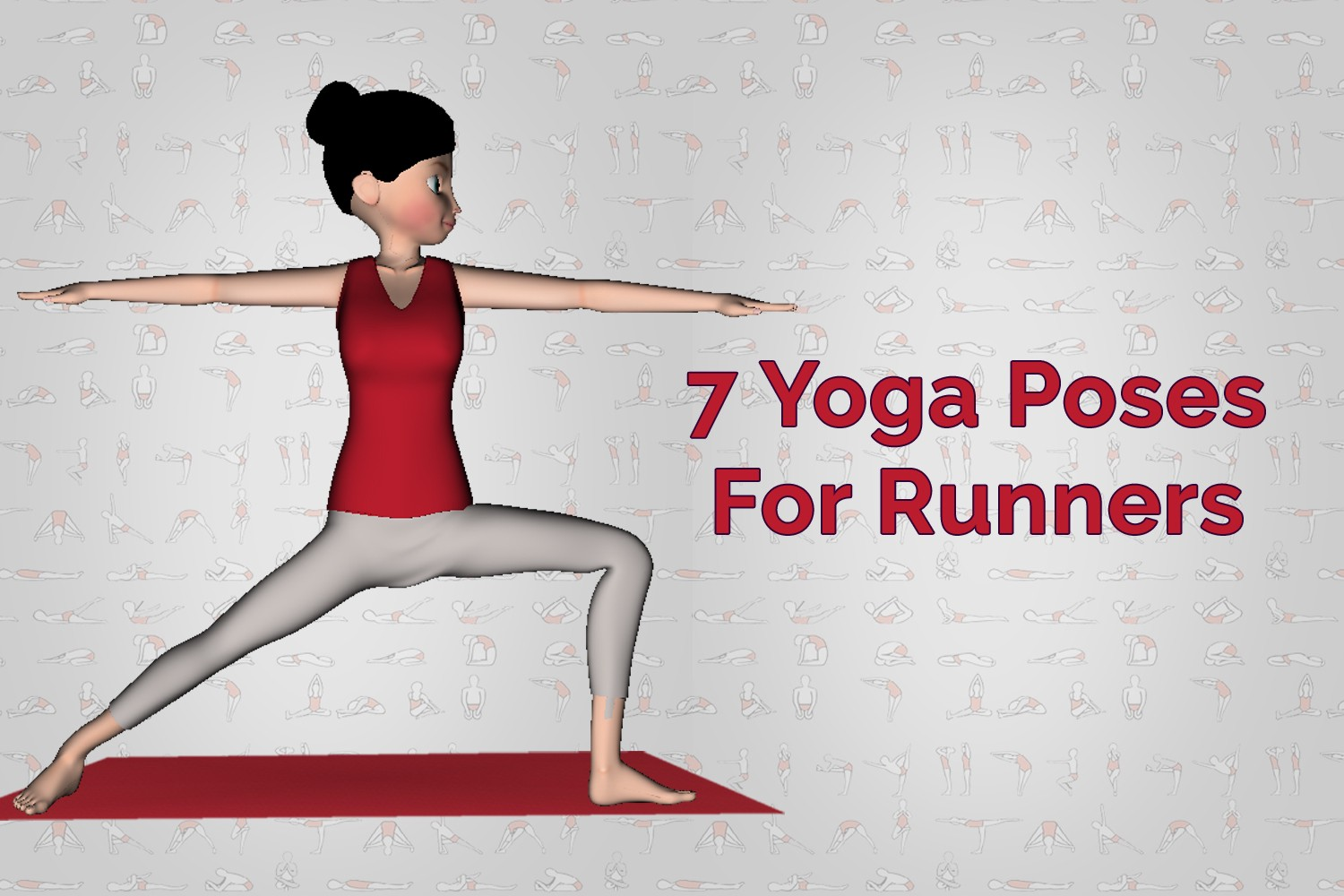 7 Yoga Poses For Runners Or Marathon Lovers By 7pranayama App Medium