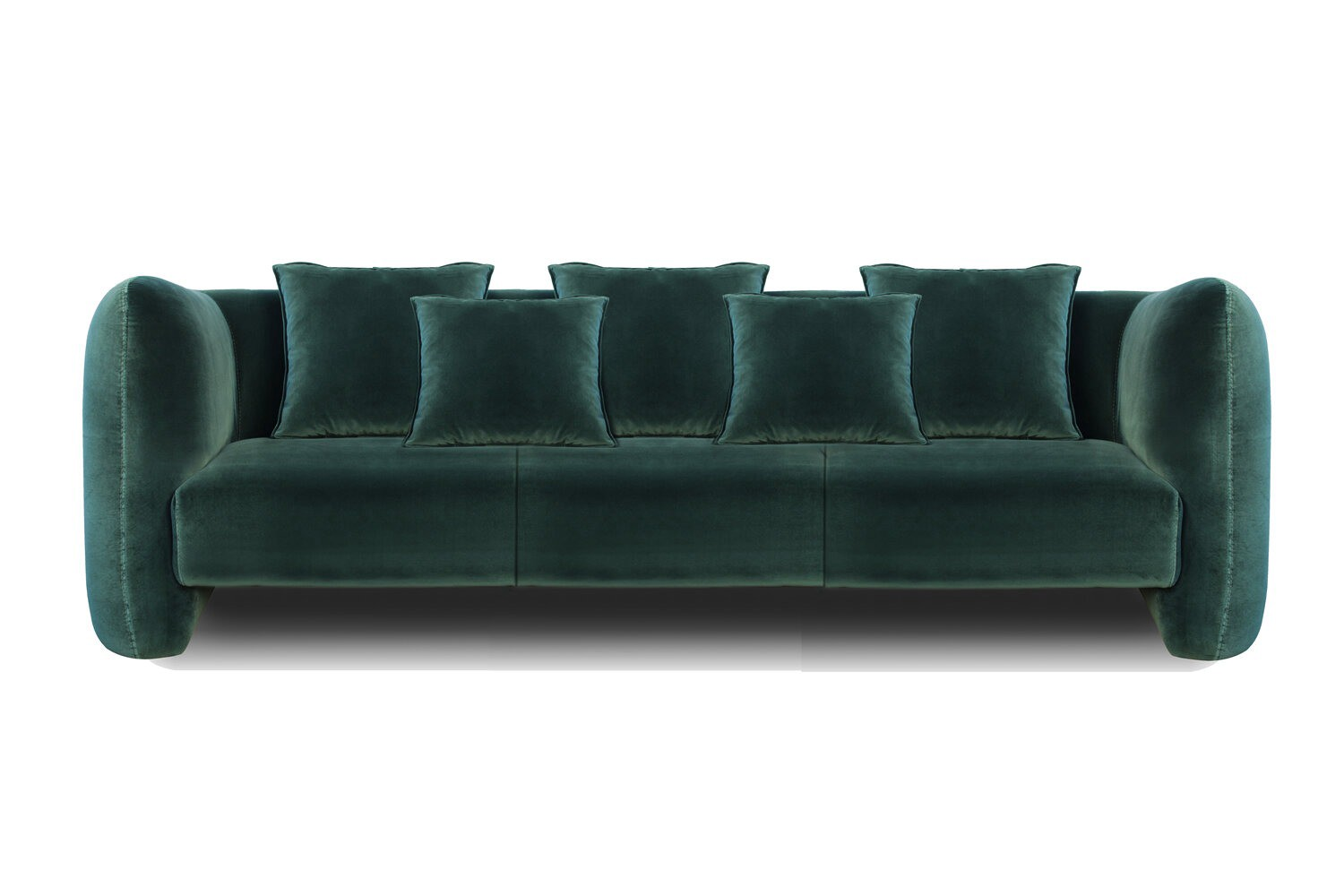 Modern Leather Sofas Show Side