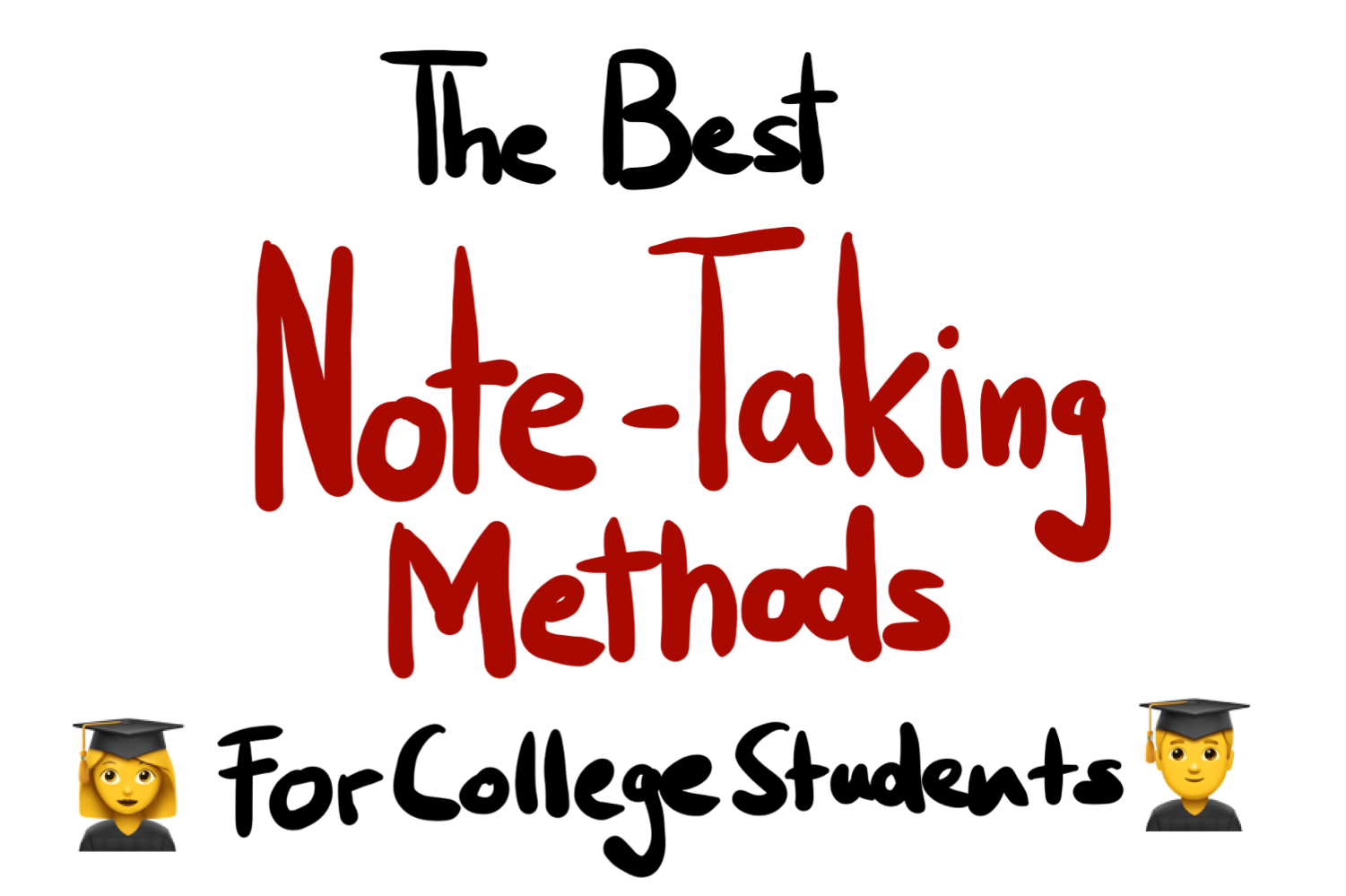 The Best Note Taking Methods For College Students Serious By Goodnotes Goodnotes Blog