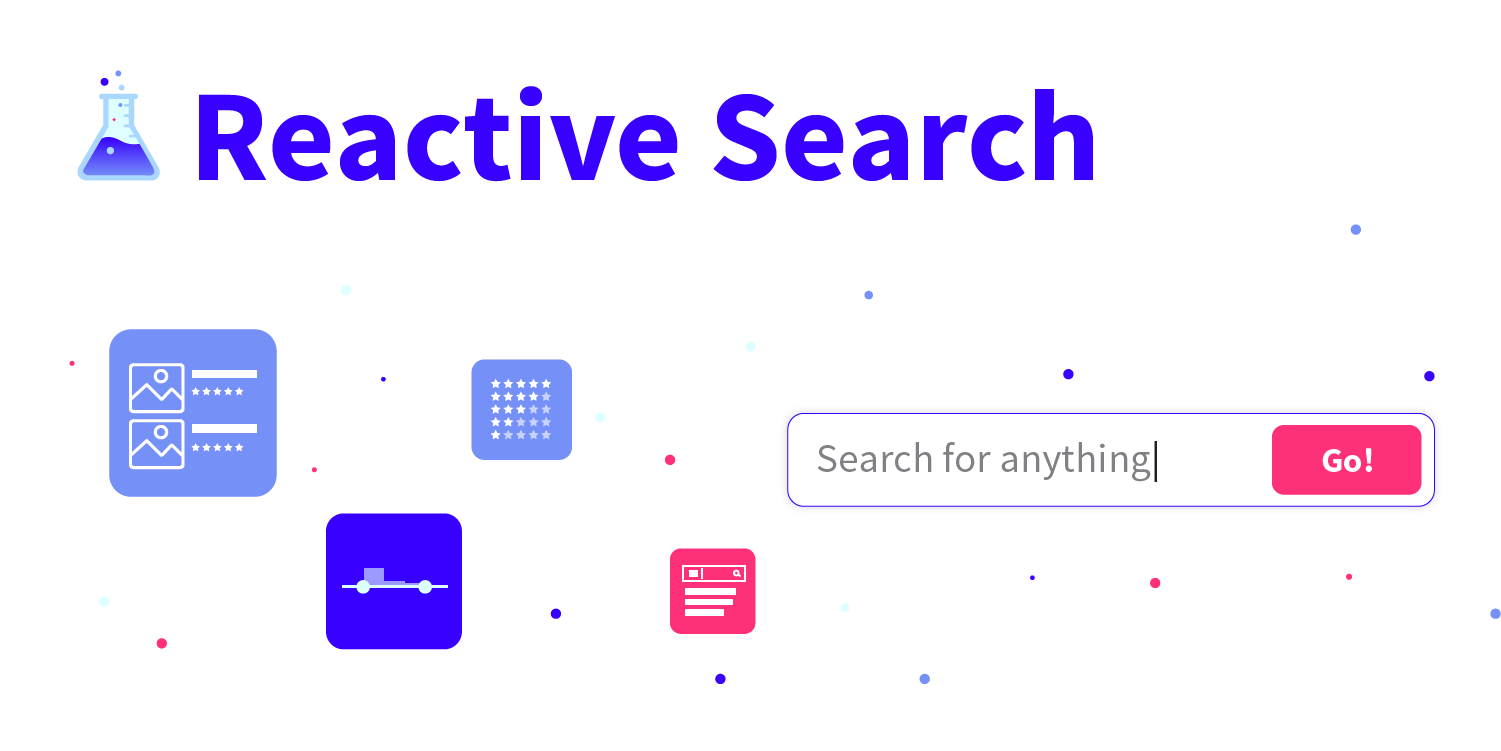 ReactiveSearch v2 — UI Components for Elasticsearch 🚀