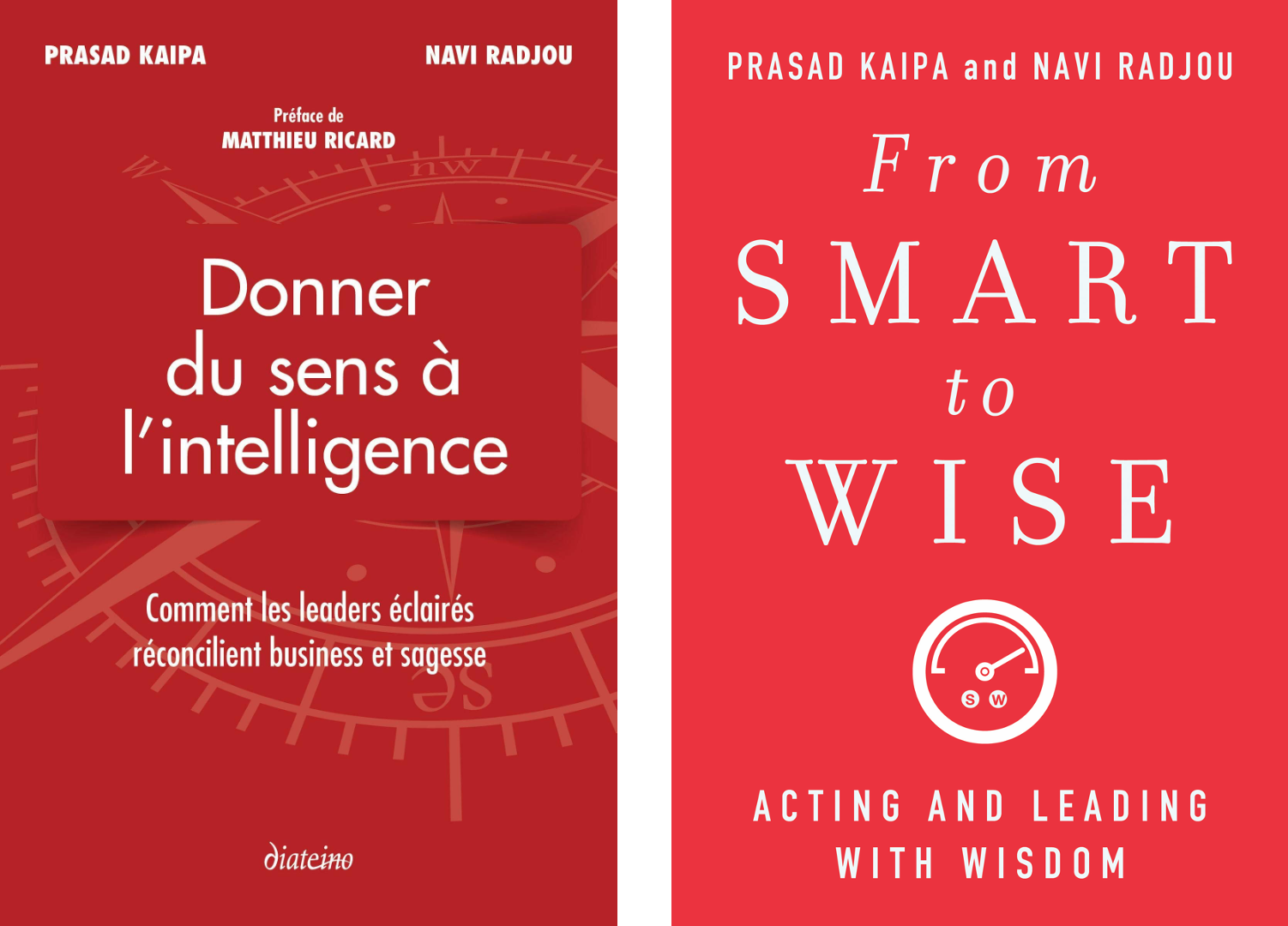 Cover of the book From Smart To Wise by Prasad Kaipa and Navi Radjou