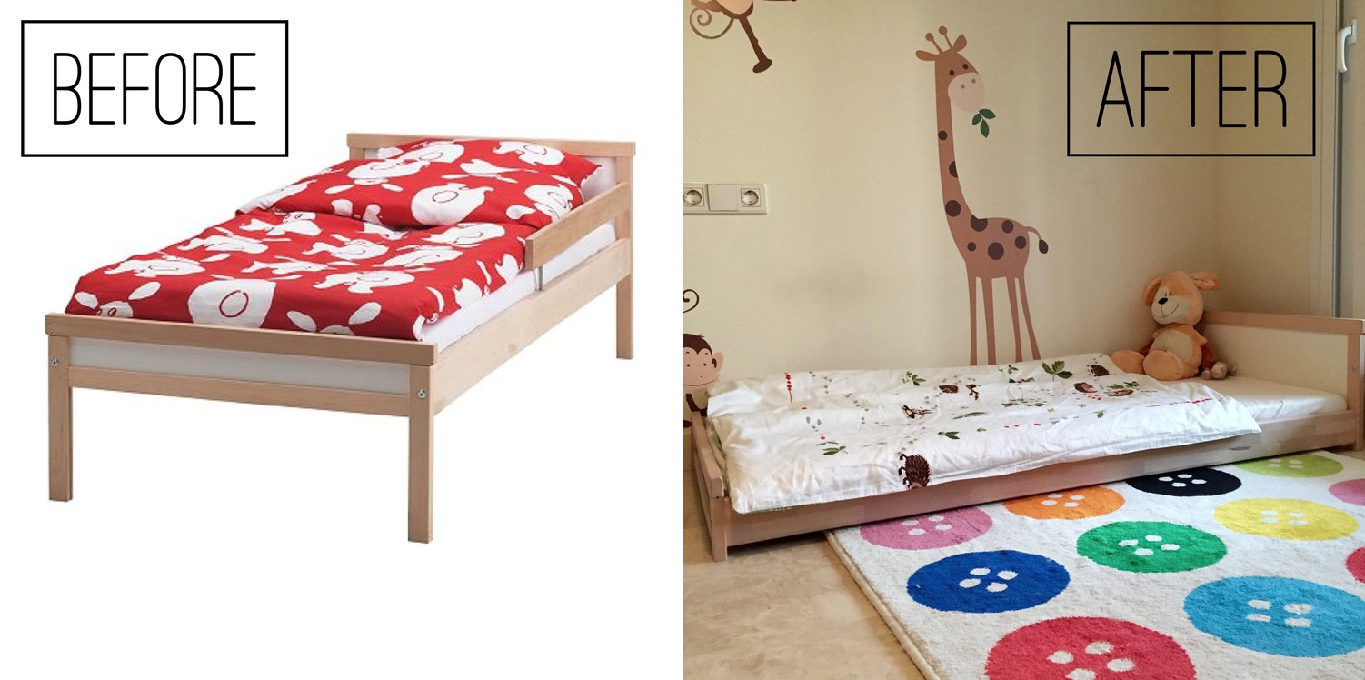 The perfect IKEA montessori bed - La Tela di Carlotta