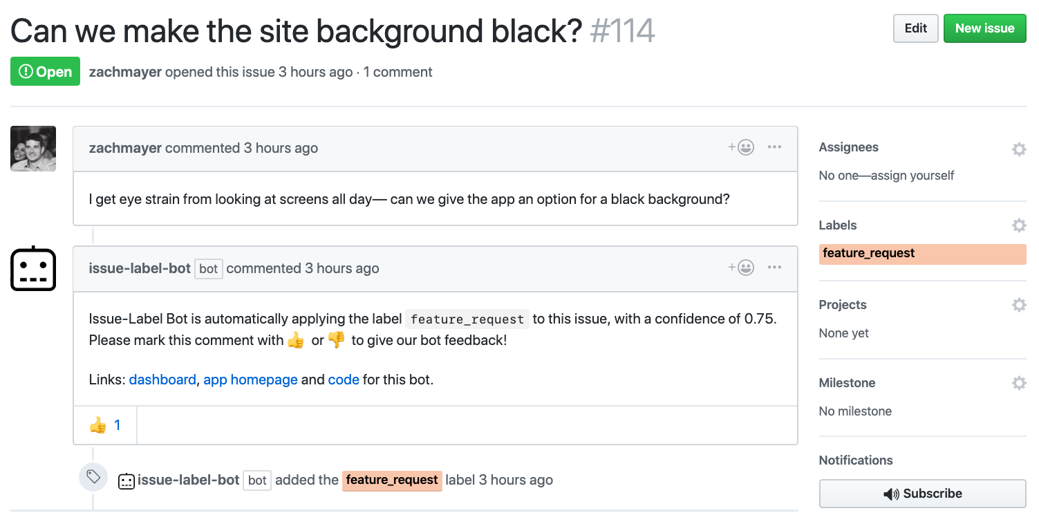 How to Automate Tasks on GitHub With Machine Learning for
