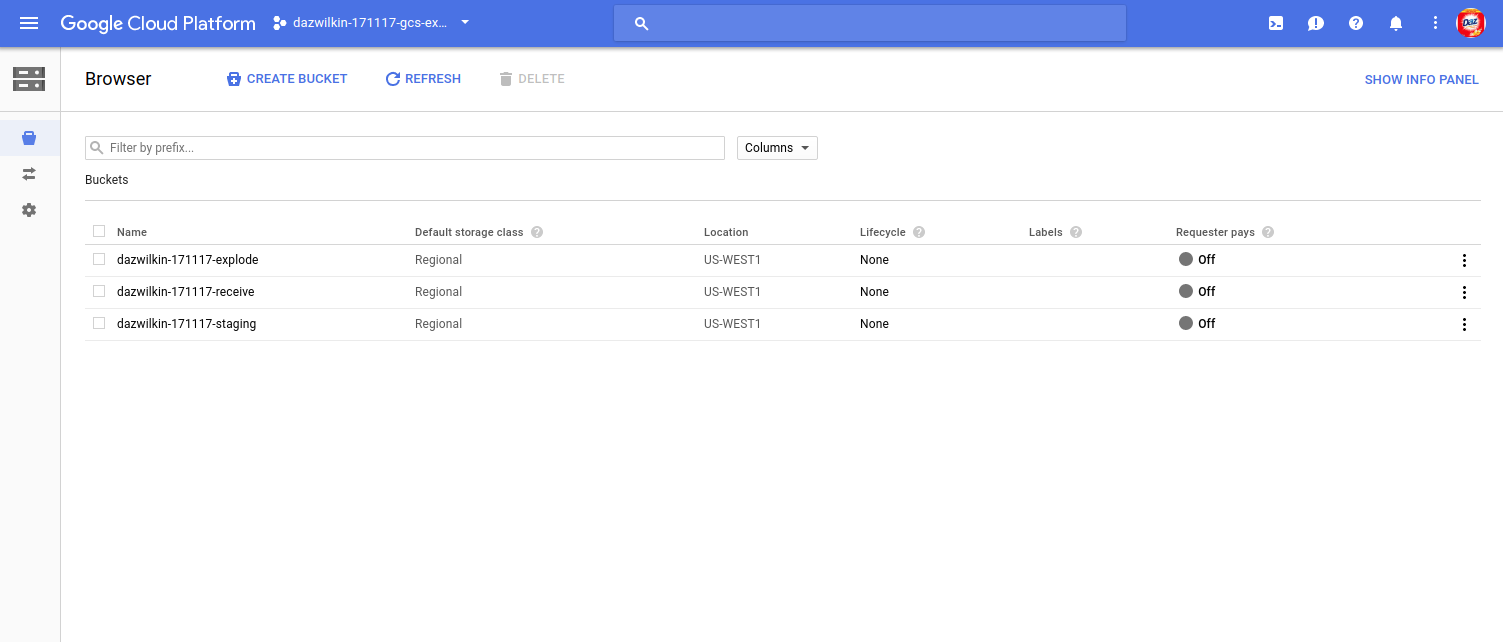 "Google Cloud Storage ""exploder"" - Google Cloud Platform"