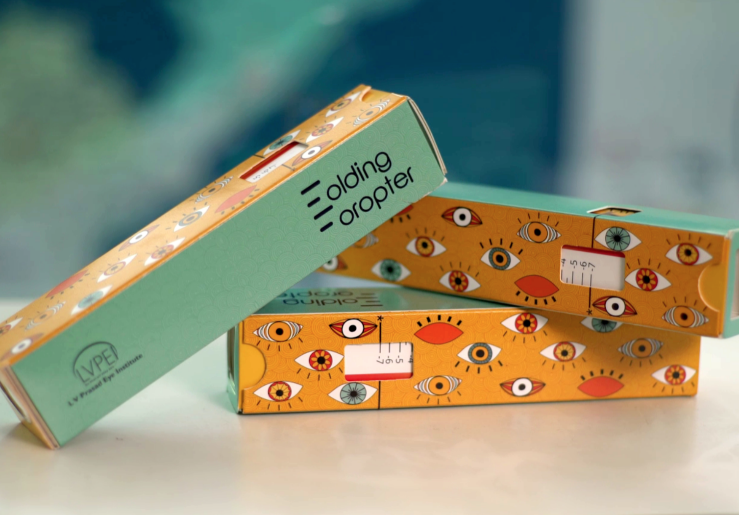 The $1 foldable eye-screening kit is here - TED Fellows