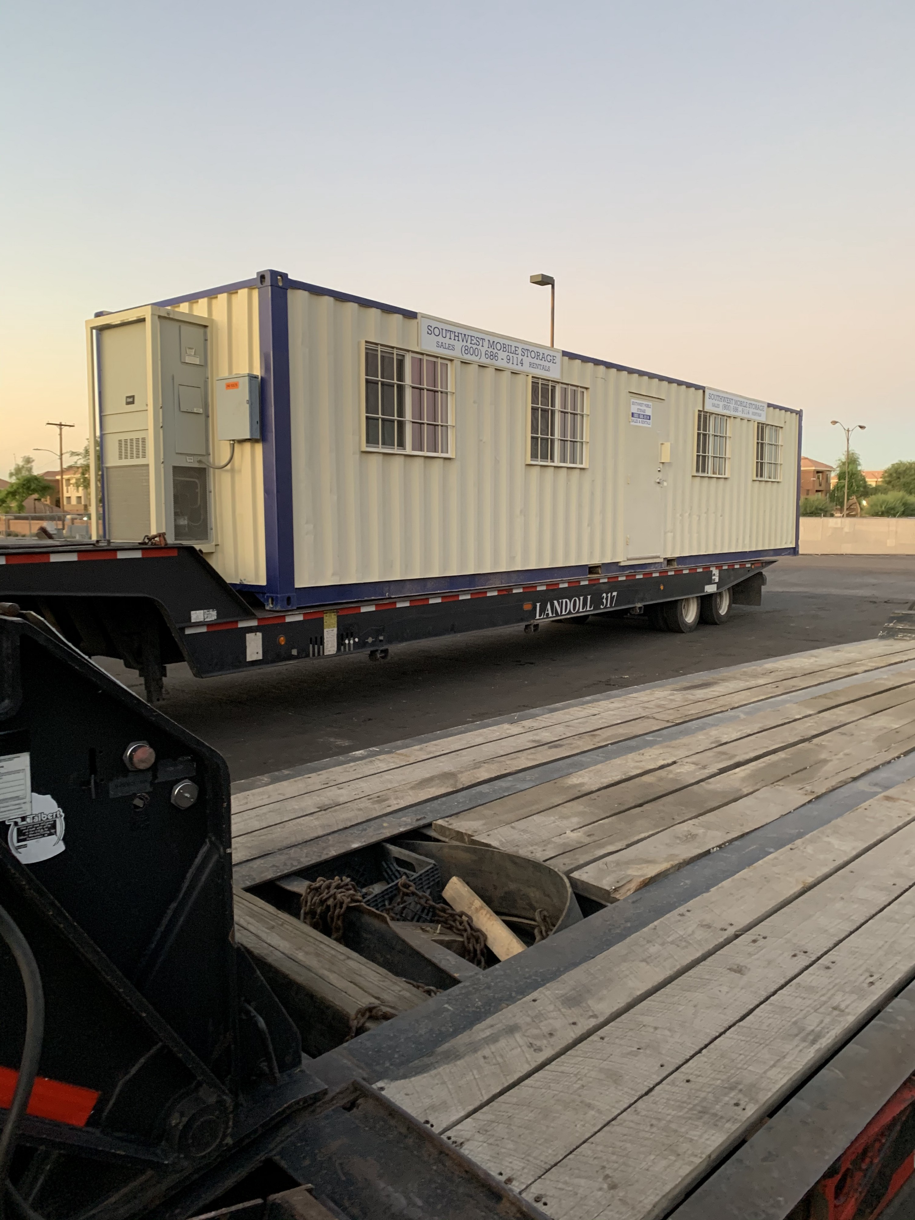Southwest Mobile Storage Portable Shipping Container