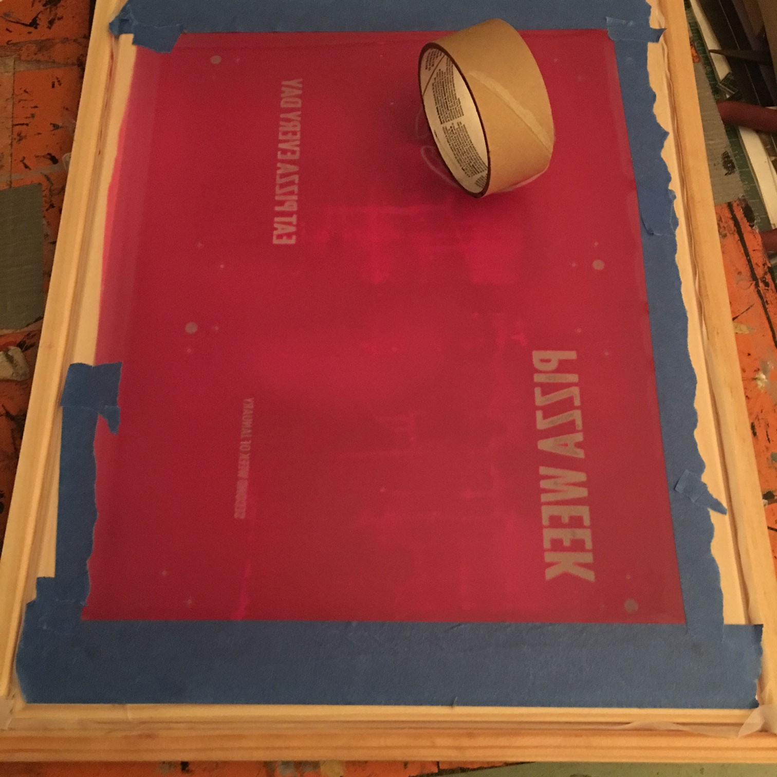 Screen Printing Using the Baby Oil Technique, Step-by-Step