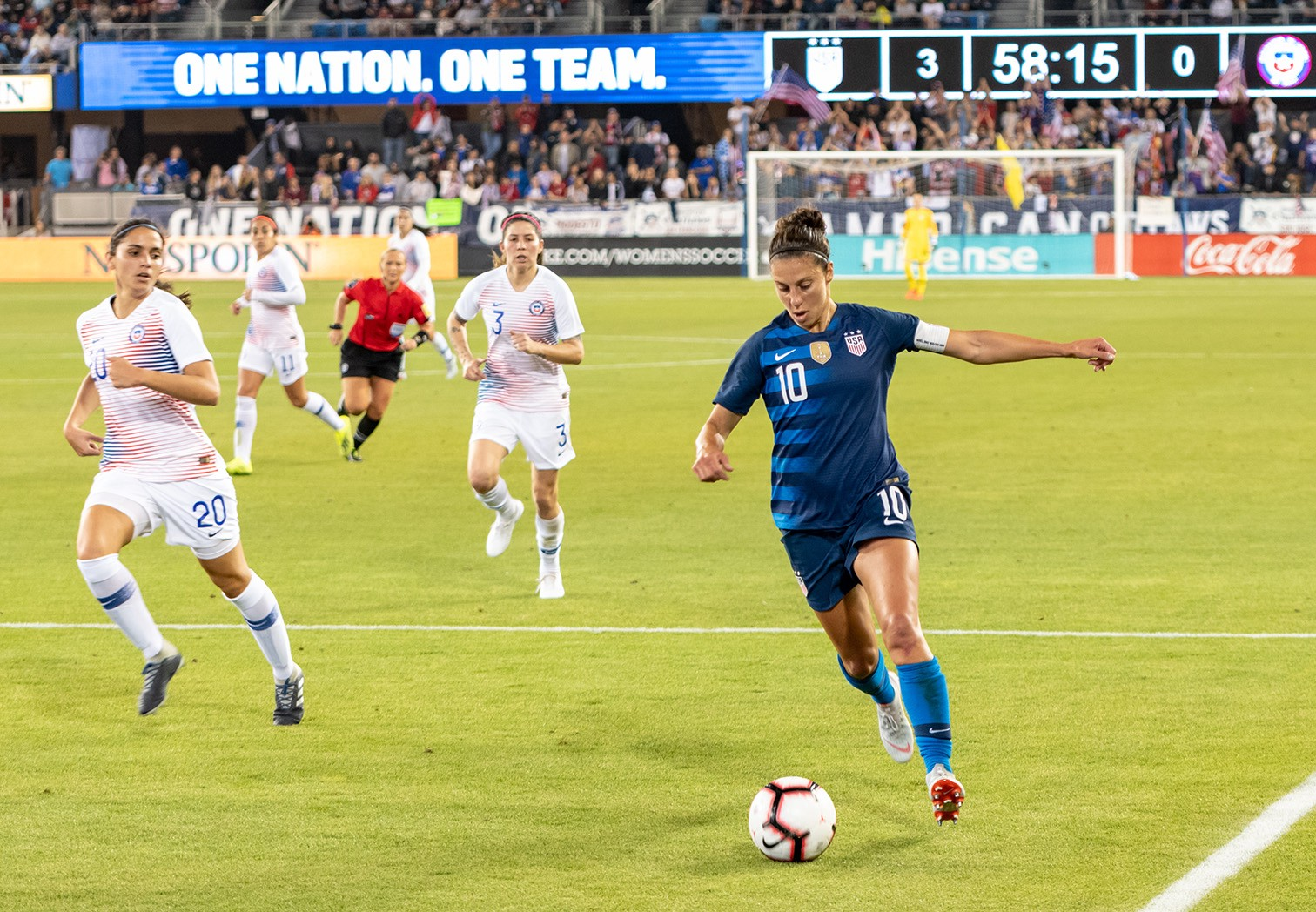 Photos: The U S  women's soccer team stays hot in San Jose