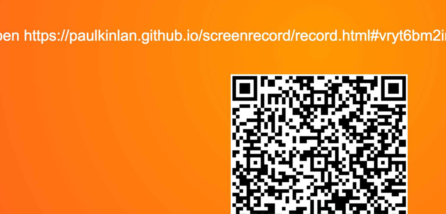Screen recording on Android with getUserMedia and WebRTC