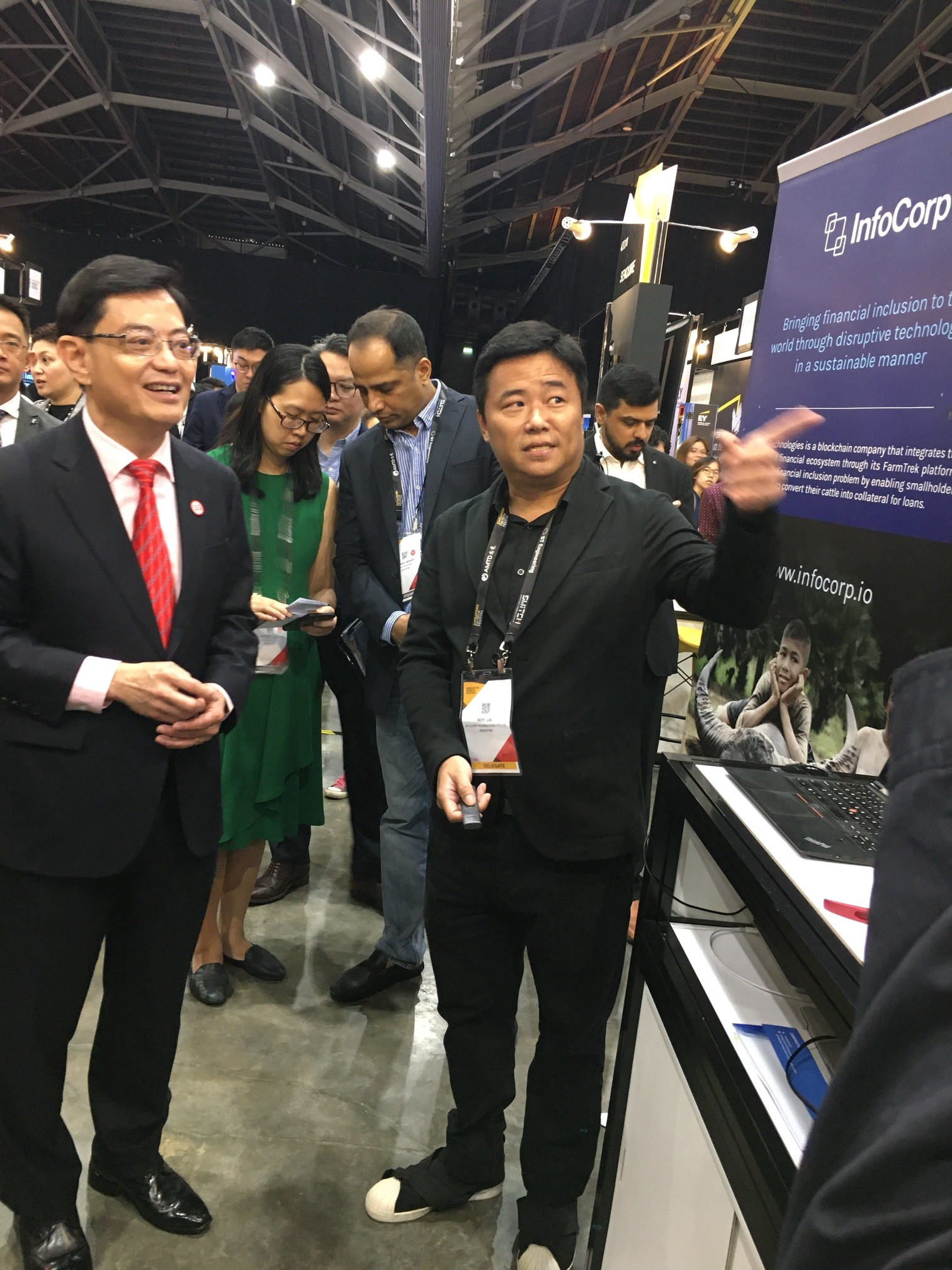 Deputy Prime Minister Heng Swee Keat was impressed that a Singaporean company can create a solution for agriculture sector