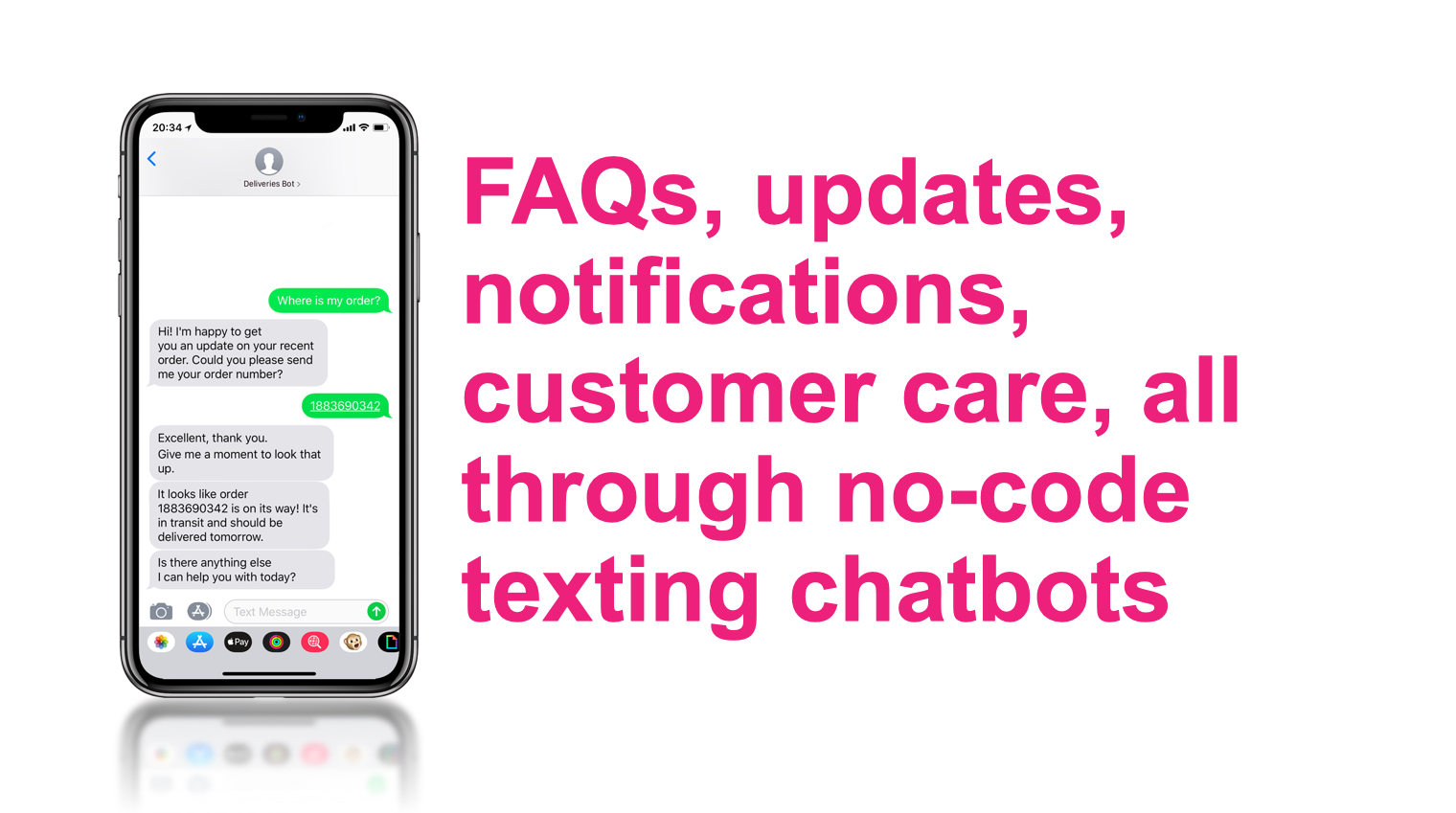 How to build a no-code SMS bot with AtBot - AtBot