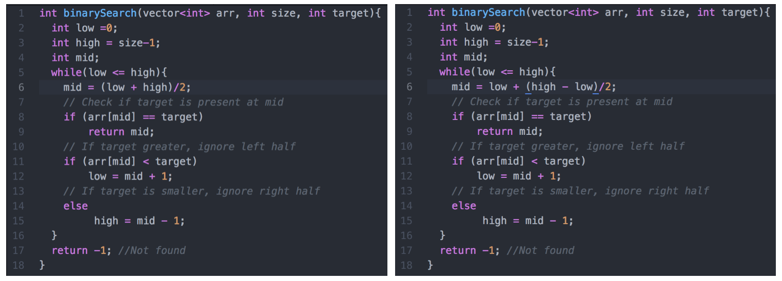 The curious case of Binary Search — The famous bug that