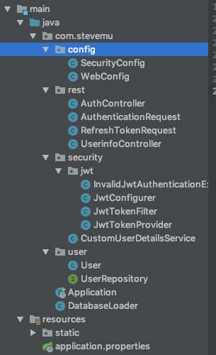 Implement jwt in Spring Boot \u0026 React