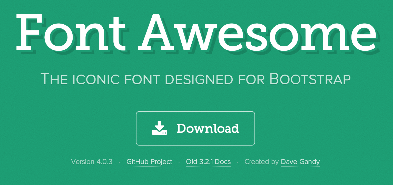 Photoshop is Dead: How to use Keynote with Font Awesome