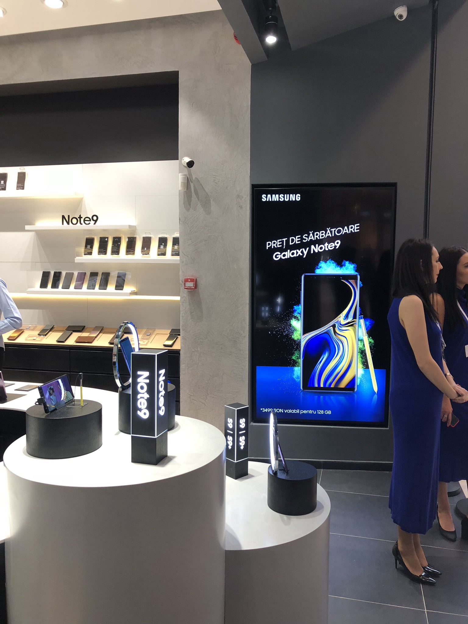 Samsung in-store campaign provided by TPS Engage