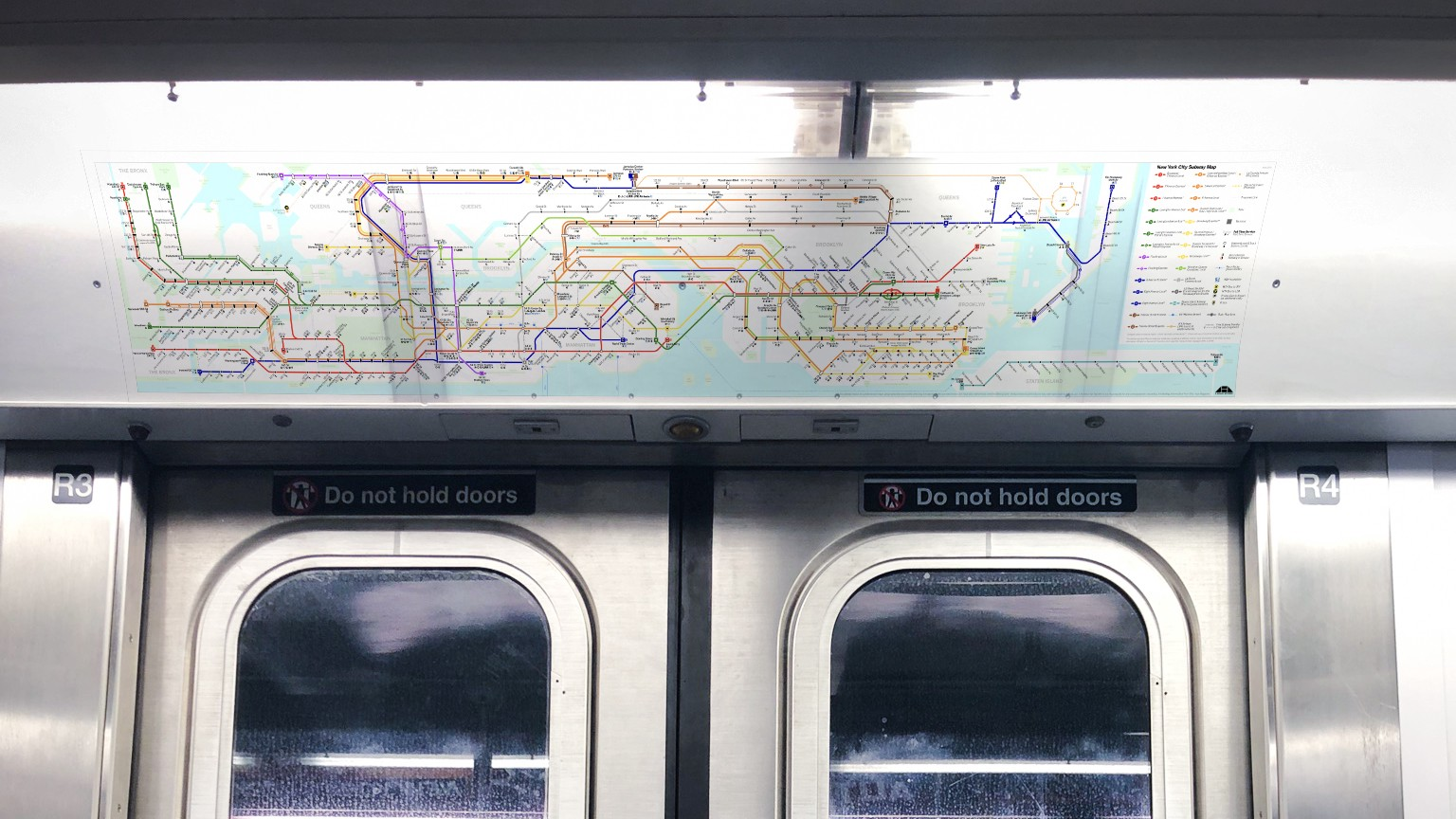 Train Subway Map New York.Rethinking The New York City Subway Map Jun Seong Ahn Medium