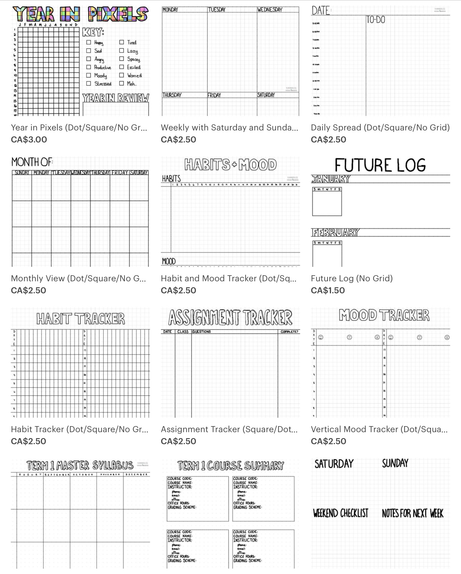 image about Printable Dot Paper for Bullet Journal identify Why GoodNotes Is The Easiest Electronic Bullet Magazine Application