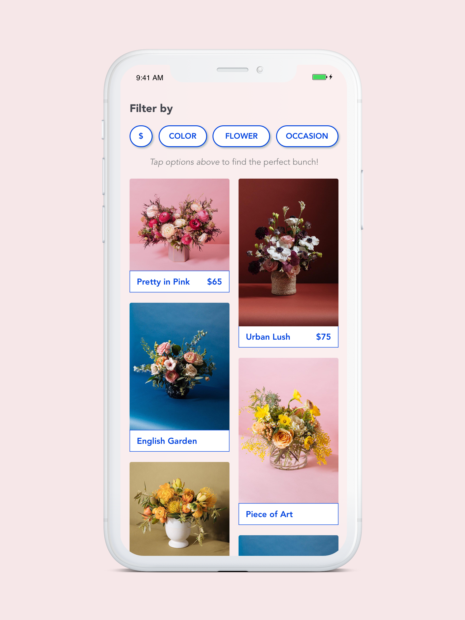 happy rose floral app — from case study to app store