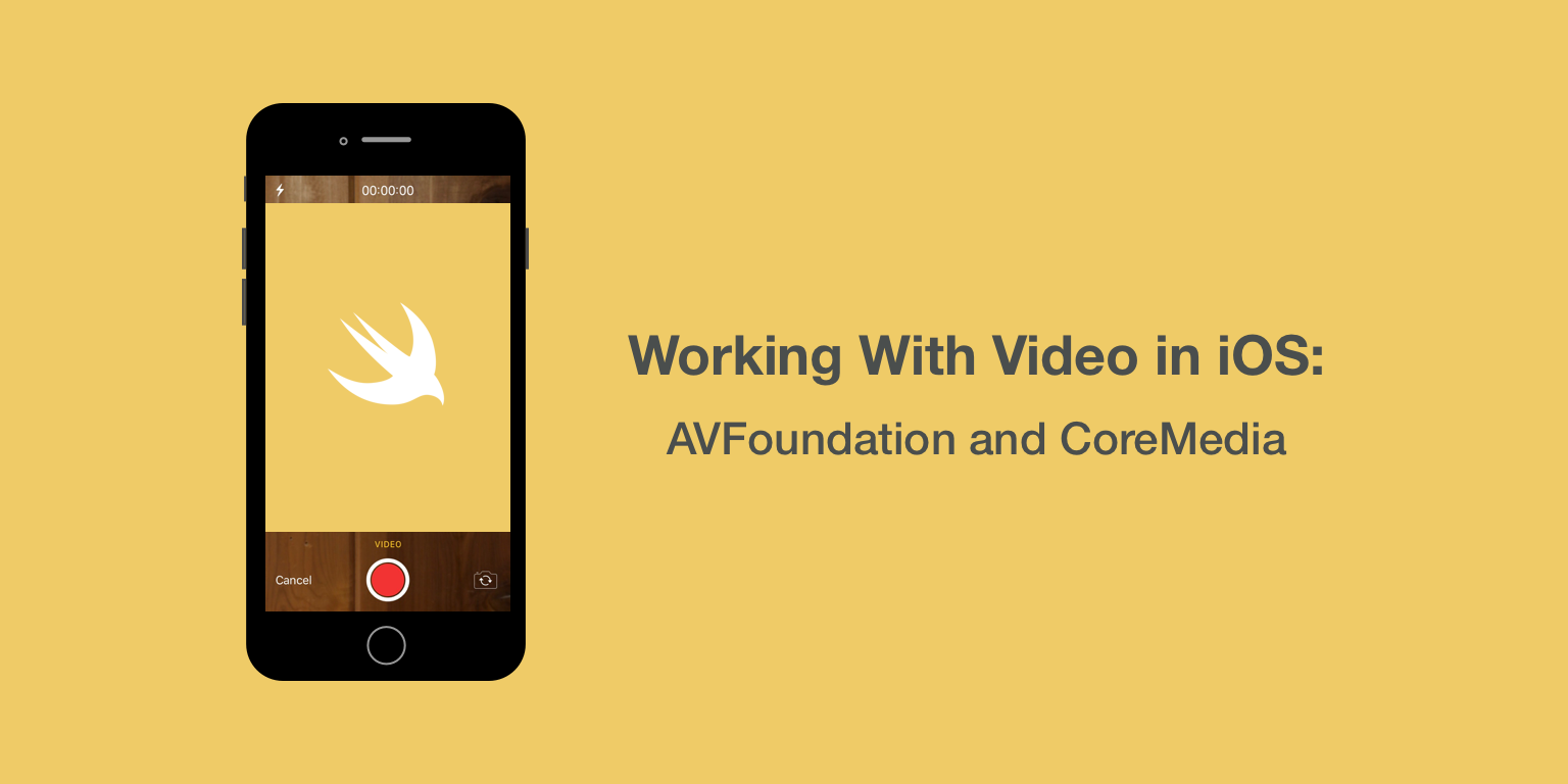 Working With Video in iOS: AVFoundation and CoreMedia