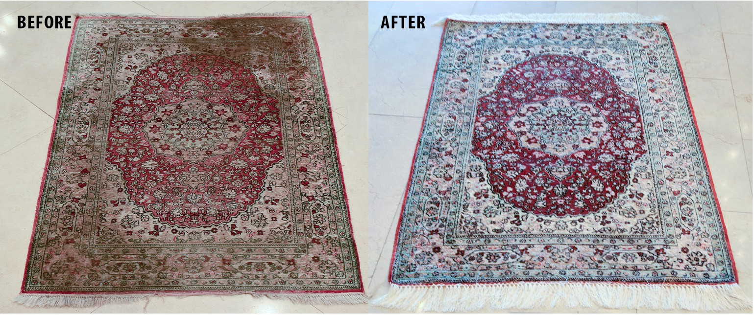Comparing Professional And Diy Rug Cleaning Azharoriental