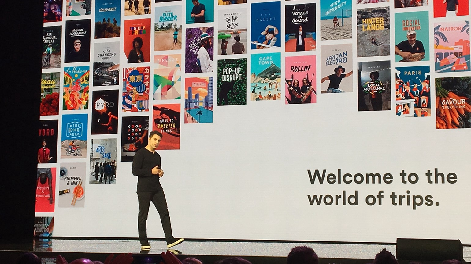 What I excitedly learn from Airbnb's new product, Trips