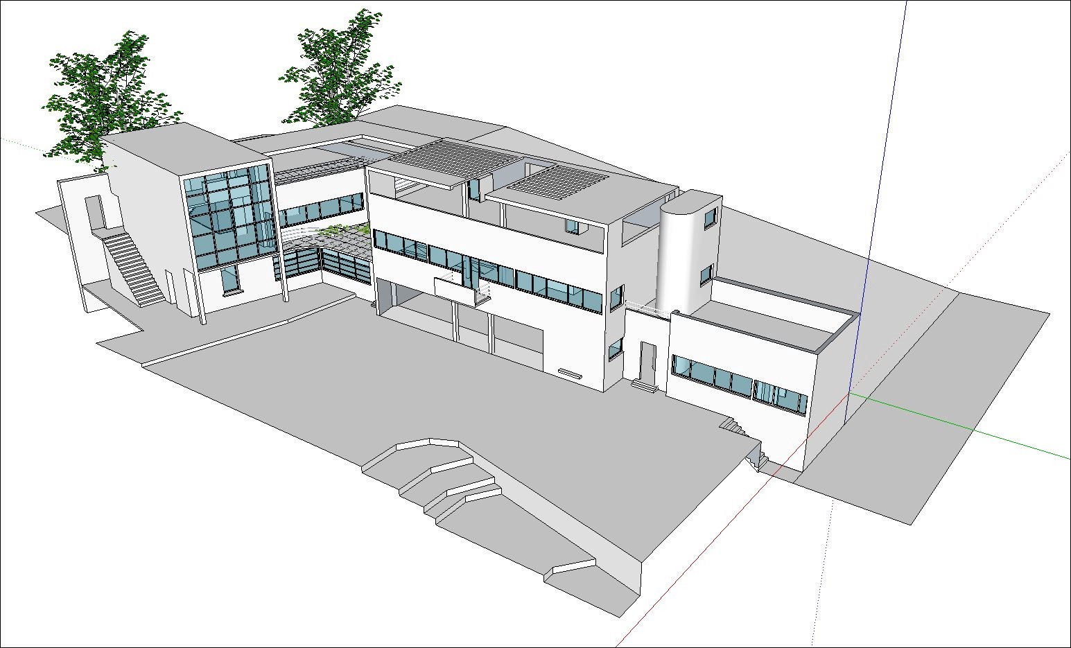 24 Types Of Le Corbusier Architecture Sketchup 3d Models Recommanded By Cad Design Free Cad Blocks And Drawings Medium