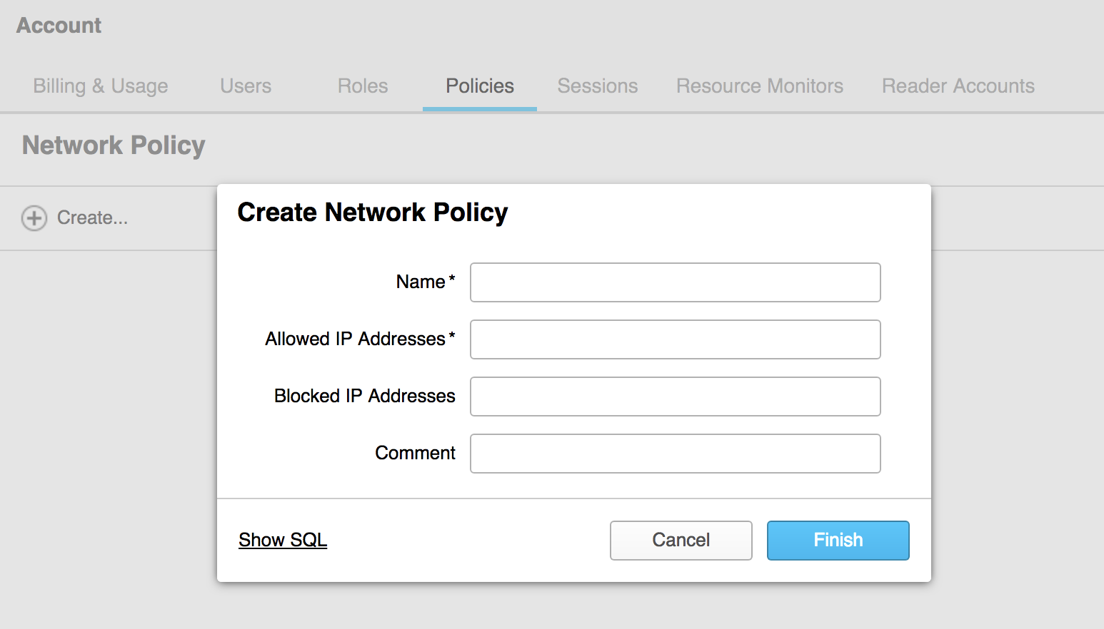 Securing Network Access for Snowflake Data Warehouse and
