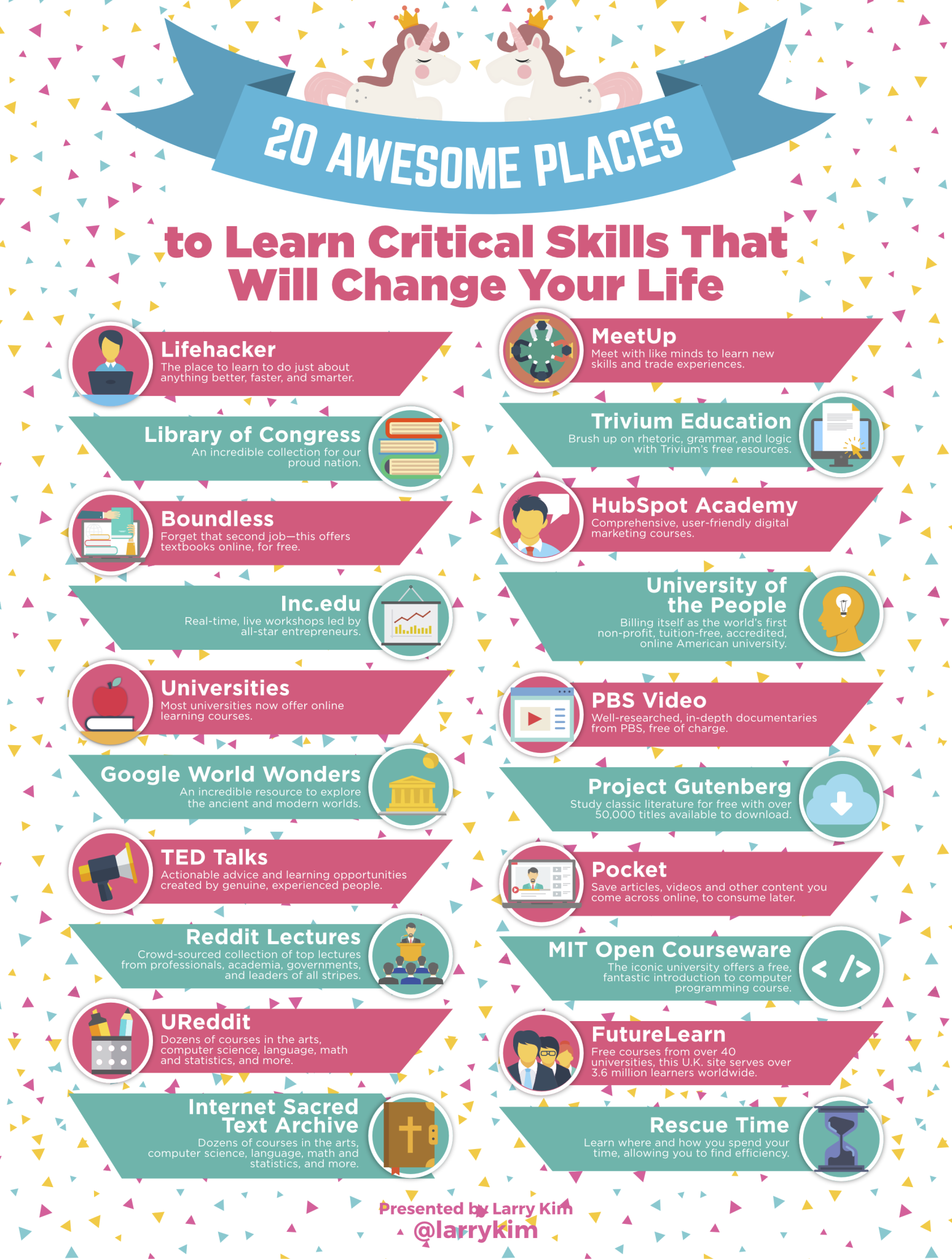 21 Awesome Places to Learn Critical Skills That Will Change