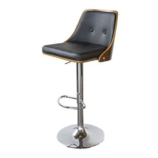 Terrific Vanwingerden Adjustable Height Swivel Bar Stool By Wrought Pabps2019 Chair Design Images Pabps2019Com