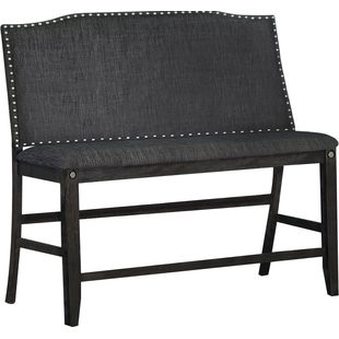 Dylan Counter Height Upholstered Bench By Darby Home Co Onsales Discount Prices By Harold Medium
