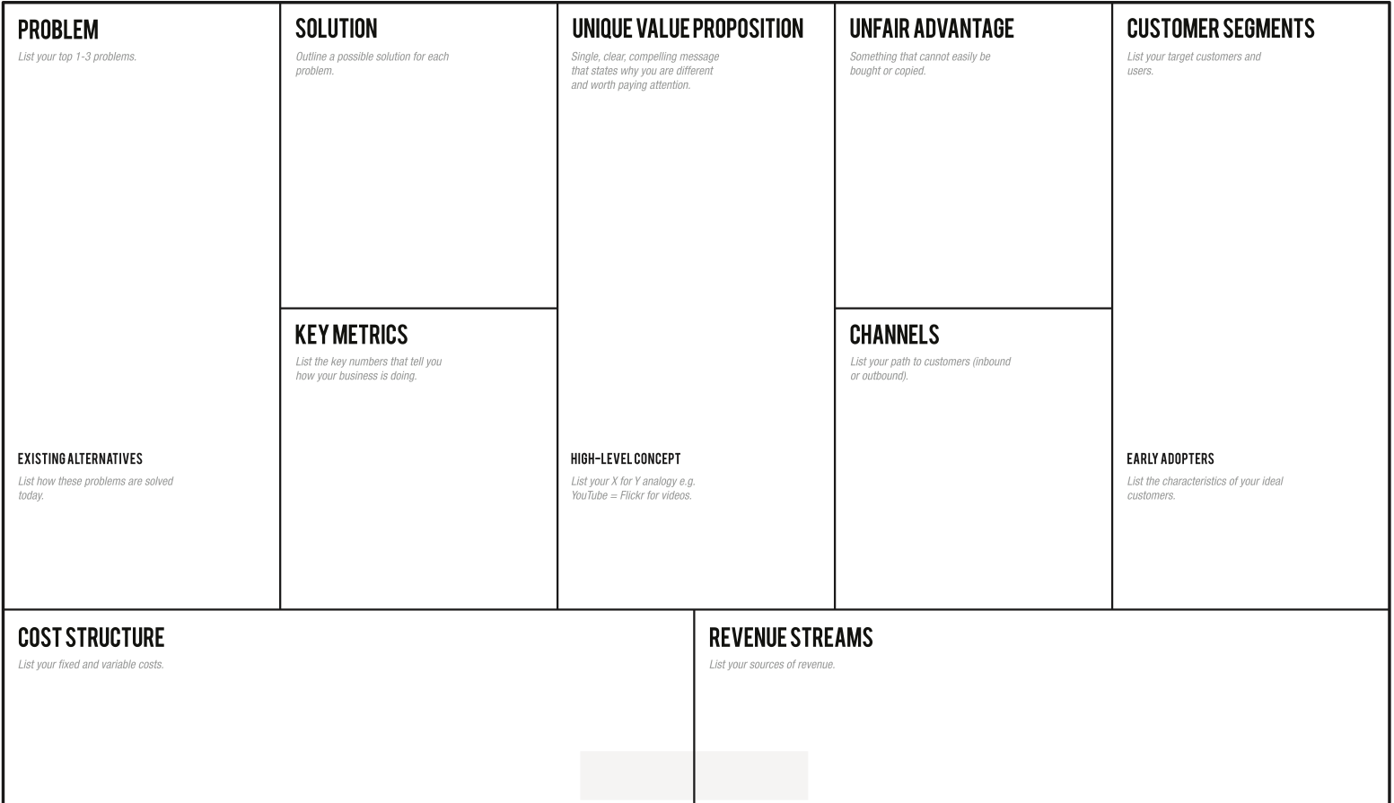 Template The 30 Minute Business Plan For App Development Startups ...