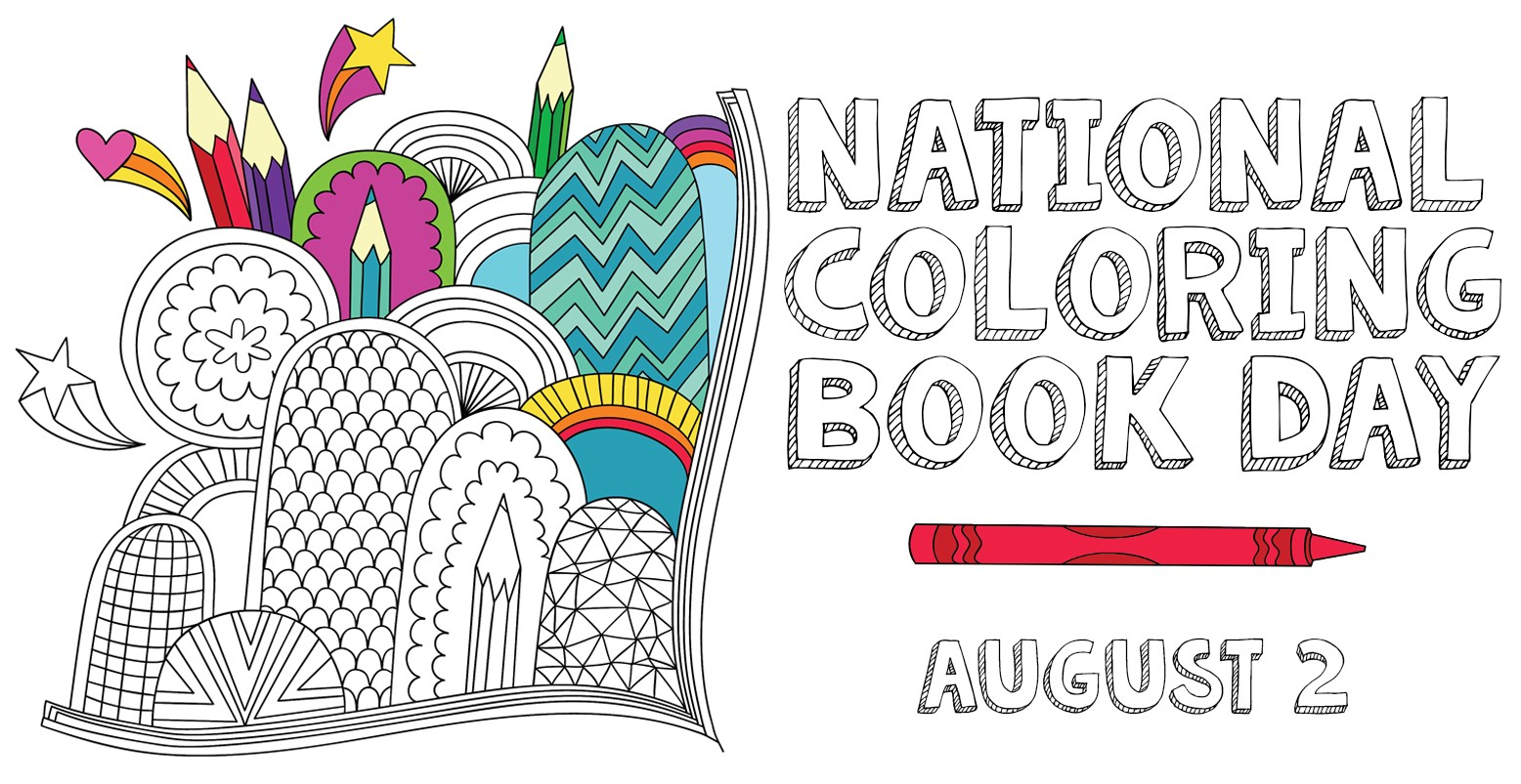- Here Comes National Coloring Book Day ! - Doverpublications - Medium