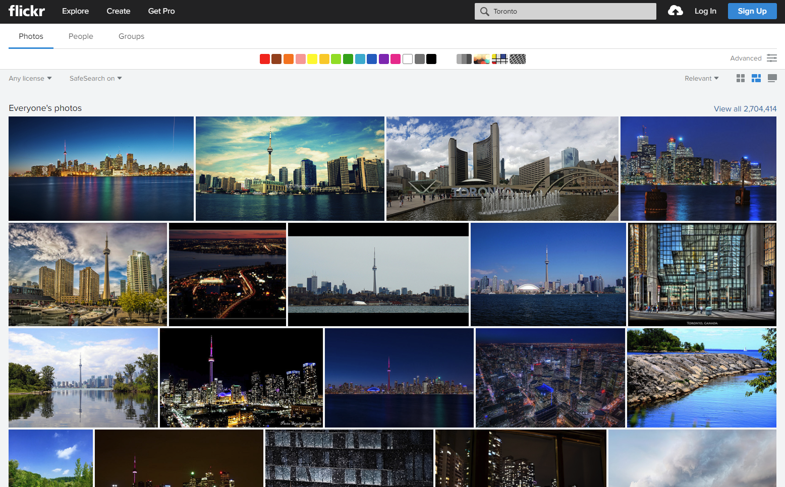 Automated Web Scraping Using Flickr API With Dynamic