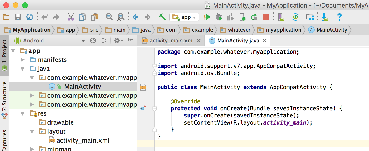 Getting what the user typed — Android #7 - appsandbiscuits