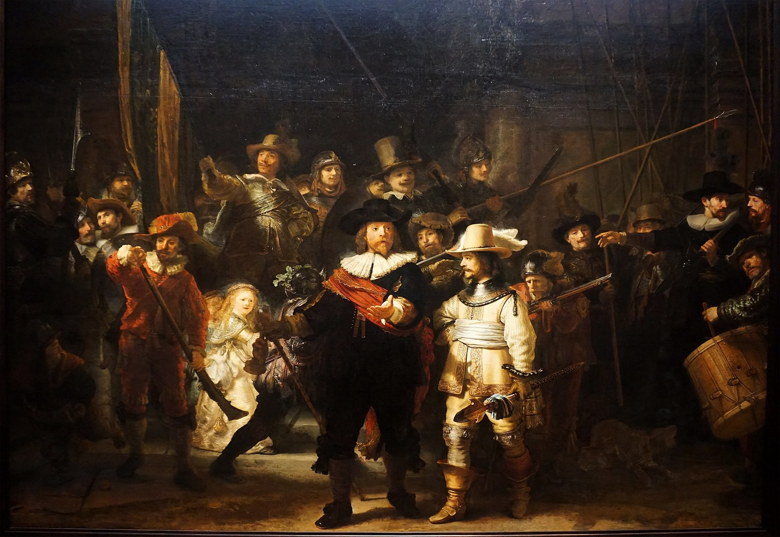 The Night Watch (painting) by Rembrandt