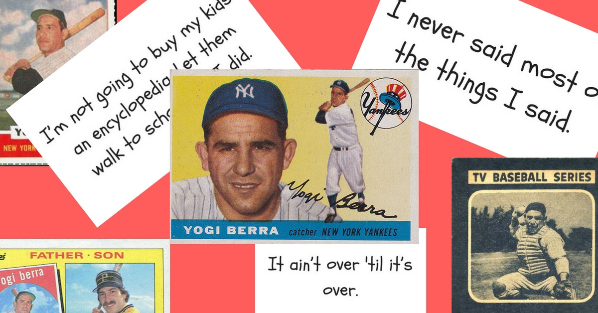 Yogisms And Baseball Cards Complete Visual Guide To The