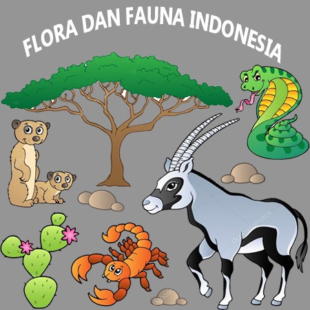 Flora Dan Fauna Indonesia Medium